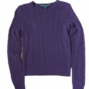 Ralph Lauren black label slim fit cashmere sweater